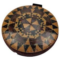 Tunbridge Ware Pin Cushion Pin Wheel