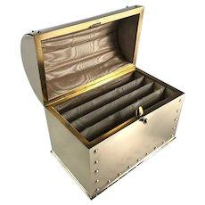 Brass Stationery Casket Box - Circa 1910