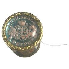 Rare Antique I.P. Clarke's Cotton/Thread Reel