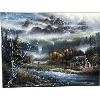 "Original Painting ""Paradise Valley"""