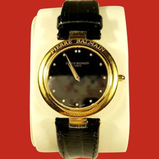 Pierre Balmain Gold Plated Ladies Watch