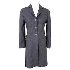 Vintage 1990s Irish Gray Herringbone Kilkenny Riding Jacket The Art of Dressing