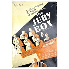 Vintage Parker Brothers The Jury Box 1936 Board Party Game
