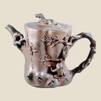 Vintage Yixing Ornate Teapot - 1990s