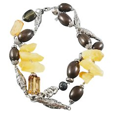 Dolce & Gabbana Resin Bead Double Strand Necklace