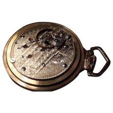 Hamilton Gold Filled 1906 pocket watch.