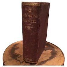 The Apocalypse Revealed Emanuel Swedenborg 1876 Book