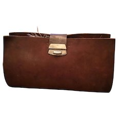Vintage Leather Fly Fishing Wallet #2