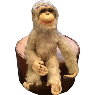 Adorable Straw Stuffed Yes No type Monkey Toy