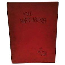 Children's Book The Watchbirds by Munro Leaf 1939