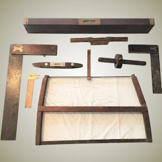 Lot of tools VINTAGE Woodworking Tool Set of 8