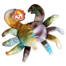 Beanie Baby Claude The Crab Original (With Errors)