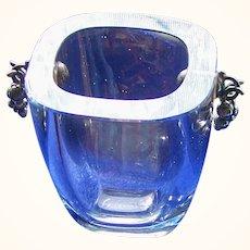 Strombergshyttan Art Glass Crystal Vase