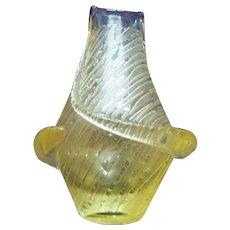 Czech/Bohemian Cameo type Vase by Frantisek Zemek