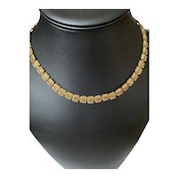 Victorian Gold Filled Book Chain Necklace