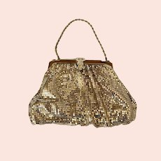 Whiting and Davis Mesh Evening Bag