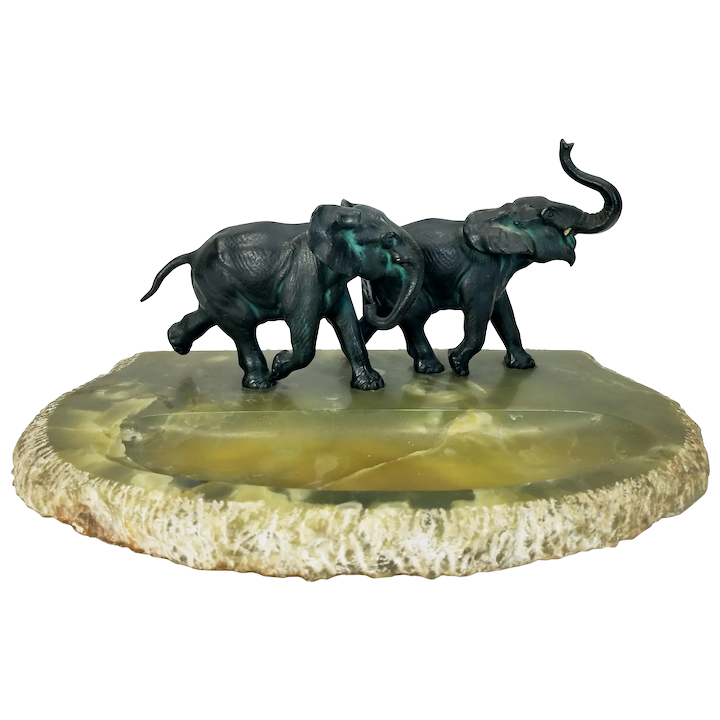 Large Antique Austrian Bronze Running Elephants On Green Onyx Base Mason Antiques Ruby Lane ✓ free for commercial use ✓ high quality images. large antique austrian bronze running elephants on green onyx base
