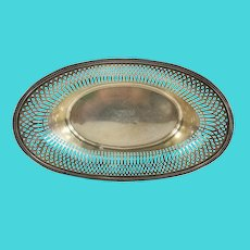 Sterling Silver Tiffany & Co Makers Reticulated Fruit Bowl