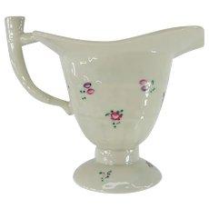 Antique Chinese Export Porcelain Rhyton Libation Cup Vase