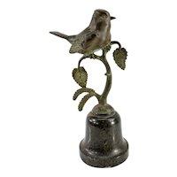 Antique German Bronze of a Bird Signed Hans Ischinger