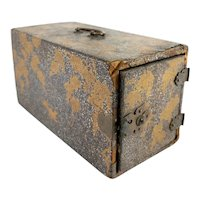 Antique Japanese Gold Lacquer Kodansu Incense Box
