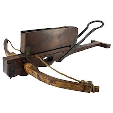 19th Century Chinese Hardwood Repeating Crossbow