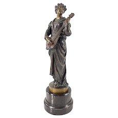 Antique Victorian Art Nouveau Renaissance Revival Bronze