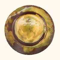 Chinese or Japanese Peking Enamel Peachbloom Plate