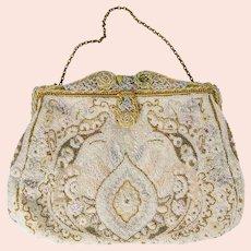Fancy Beaded French Purse Handbag Ed B Robinson