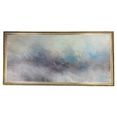 Mid Century Modern Abstract Tonalist Painting
