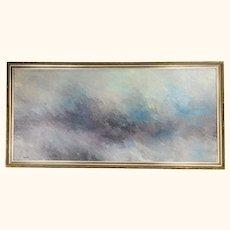 Mid Century Modern Abstract Tonalist Painting
