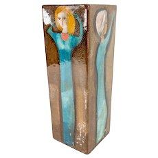 Mid-Century Modern MCM William Polia Pillin Vase
