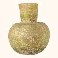 Ancient Roman Antiquity Iridescent Glass Vase