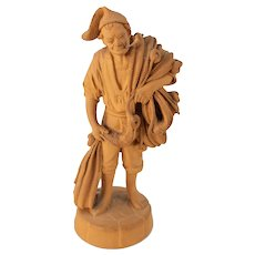 Italian Terra Cotta Pottery Figurine Figure