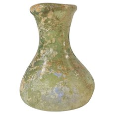 Antique Early Roman Antiquity Glass Vase