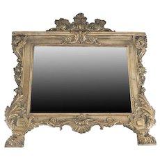 Renaissance Revival Silver Plate Mirror