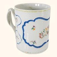 Chinese Export Porcelain Tankard Mug