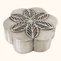 Small Silver Hallmarked Pill or Snuff Box, Austrian