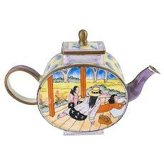 Kelvin Chen Enameled Teapot After Paul Gauguin