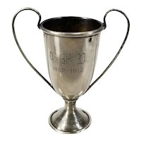 Antique Miniature Sterling Silver Trophy Cup
