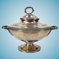 Antique Grosjean and Woodward Sterling Silver Charleston South Carolina Tureen