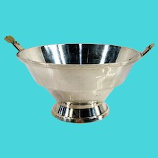 Antique Art Deco Gorham Durgin Sterling Silver Bowl