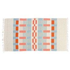 ON HOLD Scandinavian 20th century modern rug. 223 X 116 cm (87.8 X 45.67 in).