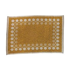Scandinavian mid-century modern rug, signed.