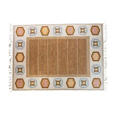 Scandinavian mid-century rug by Ingegerd Silow.