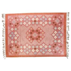 Scandinavian 20th century vintage rug by Åsa Åkerblom.