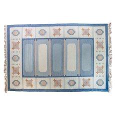 Scandinavian mid-century rug.