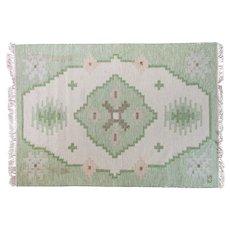 Mid-century Scandinavian rug by Evy Svensson.