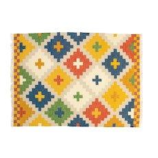 Scandinavian vintage rug, archive Ikea. 195 X 146 cm (76.77 X 57.48 in).