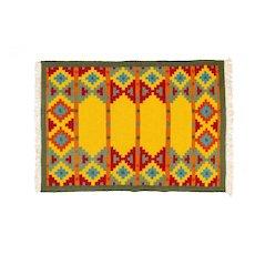Scandinavian 20th century vintage rug. 196 X 140 cm (77.17 X 55.12 in)